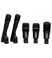 Microfones para bateria