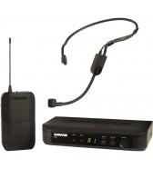 Sistema sem fio com microfone de cabeça